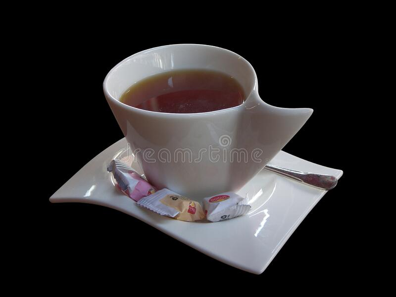 Drink tea cup. Food related to hot drink featuring drink tea cup. The hot drink food category is drinks royalty free stock photography
