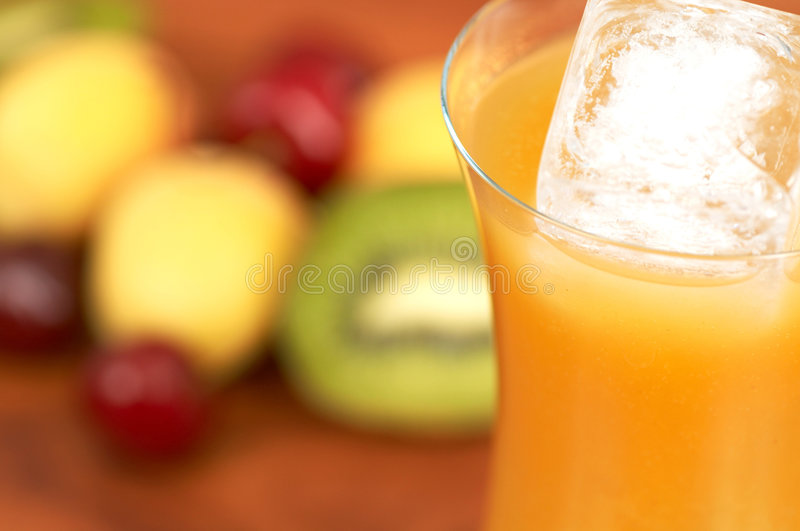Drink time stock image