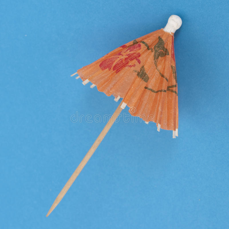 Download Drink Umbrella On A Vibrant Background Royalty Free Stock Image - Image: 16723656
