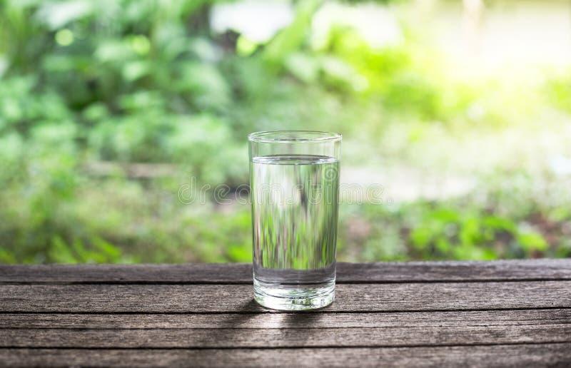 Drink water stock fotografie