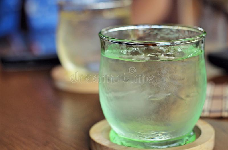Drink water royalty free stock images