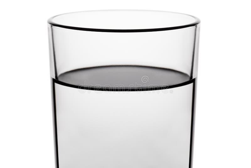 Drink waterglas royalty-vrije stock foto's