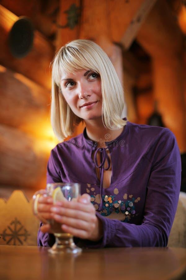 drink woman στοκ εικόνες