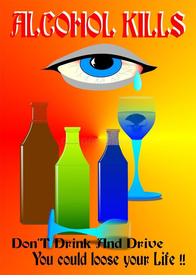 drink wykładowców t ilustracja wektor