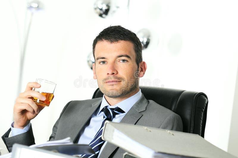Drinkende Alcohol stock fotografie