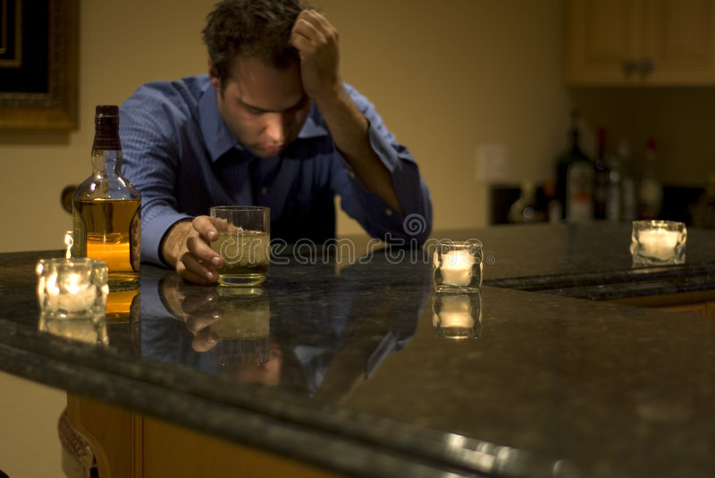 Download Drinking again stock photo. Image of despair, alcohol - 4055566