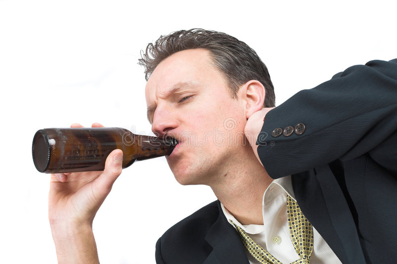 Download Drinking Away The Pain Stock Photo - Image: 623210