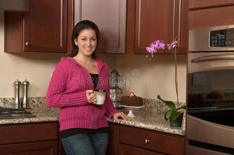 Download Drinking Coffee Royalty Free Stock Images - Image: 17660089