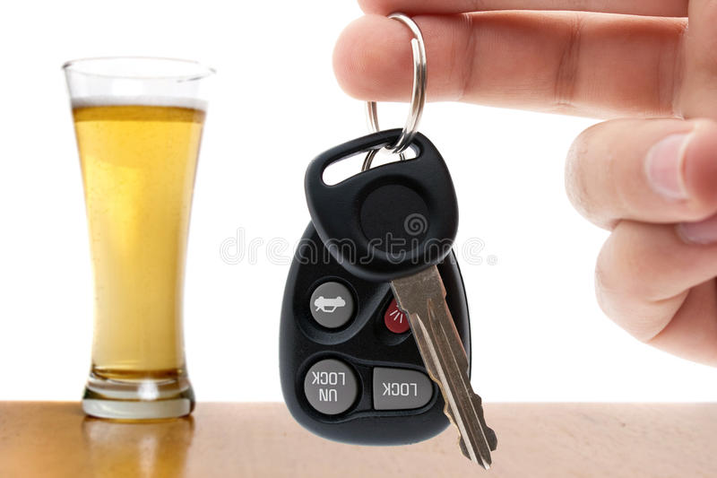 Drinking and Driving stock images