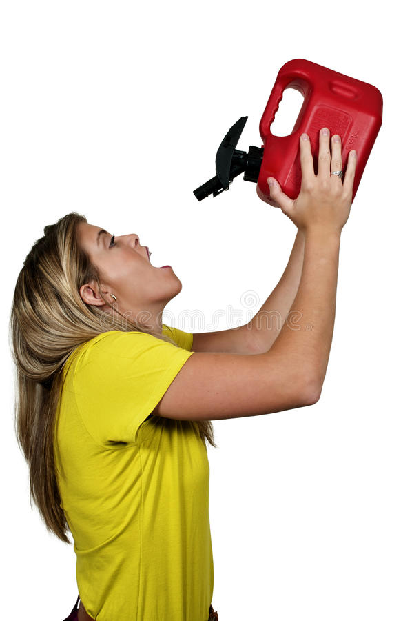Download Drinking Gasoline stock photo. Image of diesel, filling - 26764908