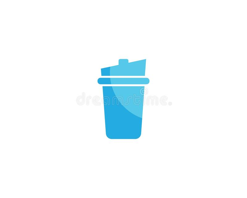 Drinking glass vector illustration stock illustration