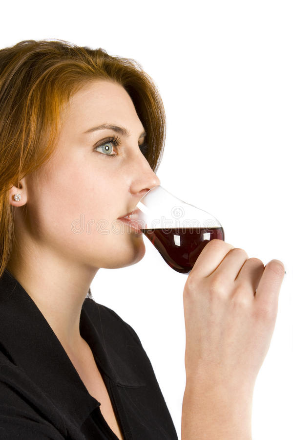 Download Drinking Red Wine stock photo. Image of liquor, adult - 10973440