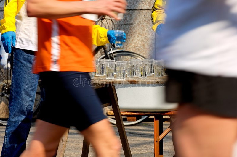 Drinking Station Royalty Free Stock Photography