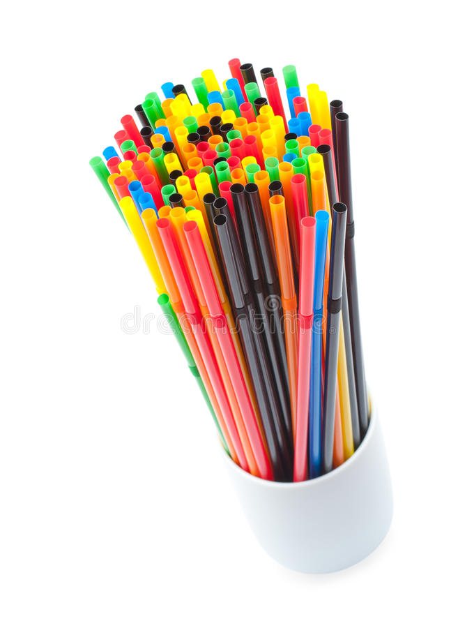 Download Drinking straws stock photo. Image of drinking, glass - 23163470