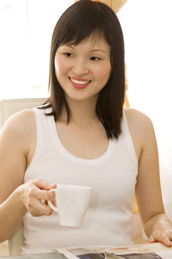 Download Drinking tea. stock image. Image of addiction, break, away - 8560747