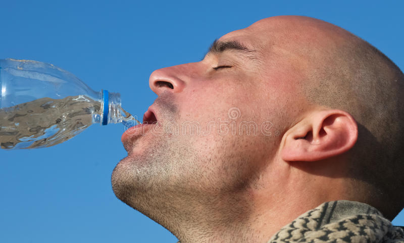 Download Drinking water stock image. Image of fresh, close, bottle - 23423691