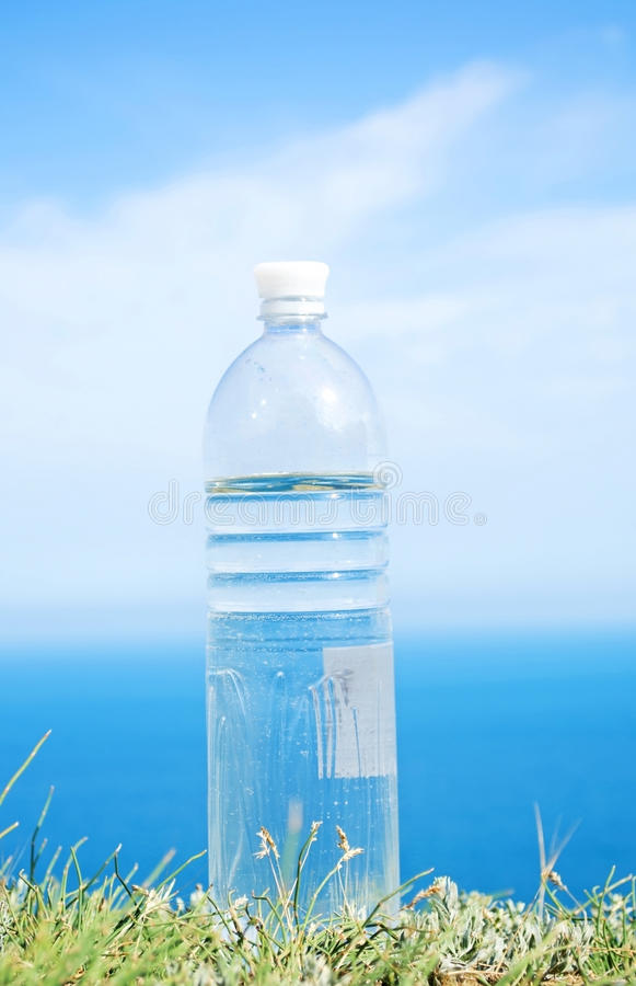 Download Drinking water stock image. Image of bottle, grass, summer - 25416249