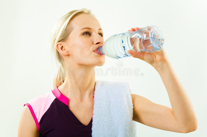 Download Drinking water stock image. Image of people, hand, feminine - 5327981