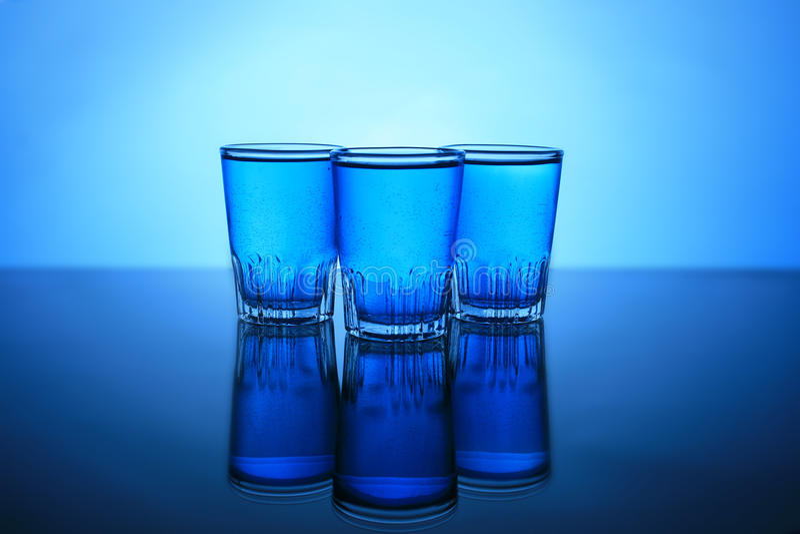 Drinkkamikaze Arkivbilder