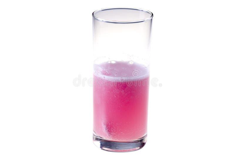 drinkpink royaltyfria bilder