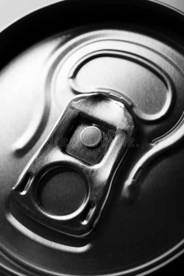 Drinks can stock photography