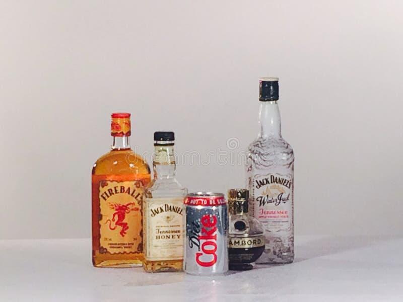 Drinks royalty free stock photo