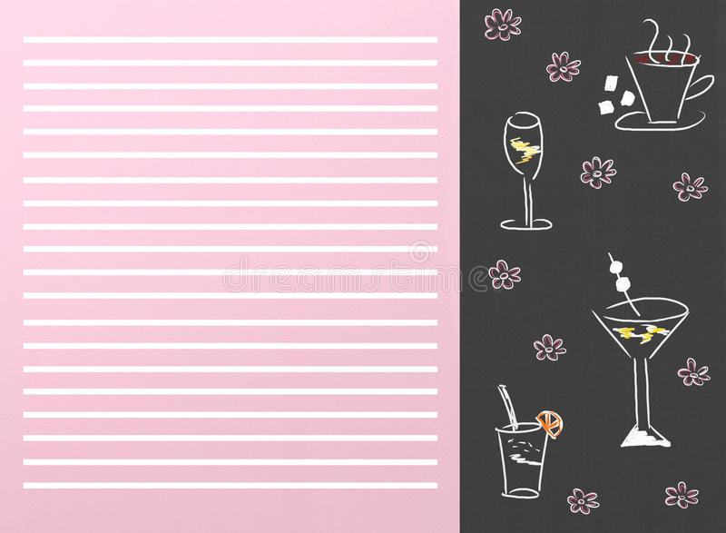 Download Drinks Menu Royalty Free Stock Photography - Image: 18627917