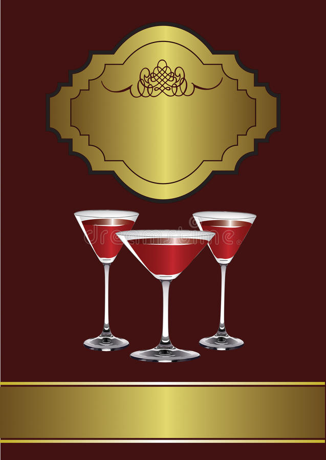 Download A Drinks Menu Template Royalty Free Stock Photo - Image: 20821475