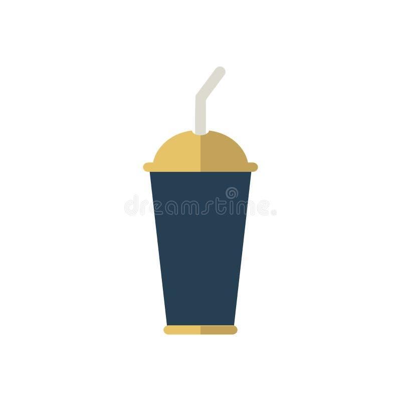 Drinksymbol Best?ndsdel f?r design vektor illustrationer