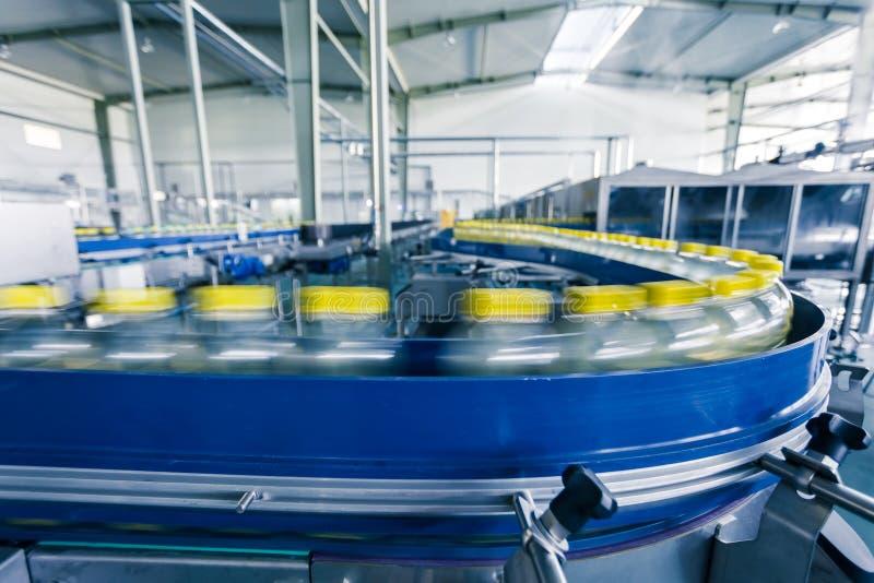 Drinkt productie-installatie in China stock fotografie