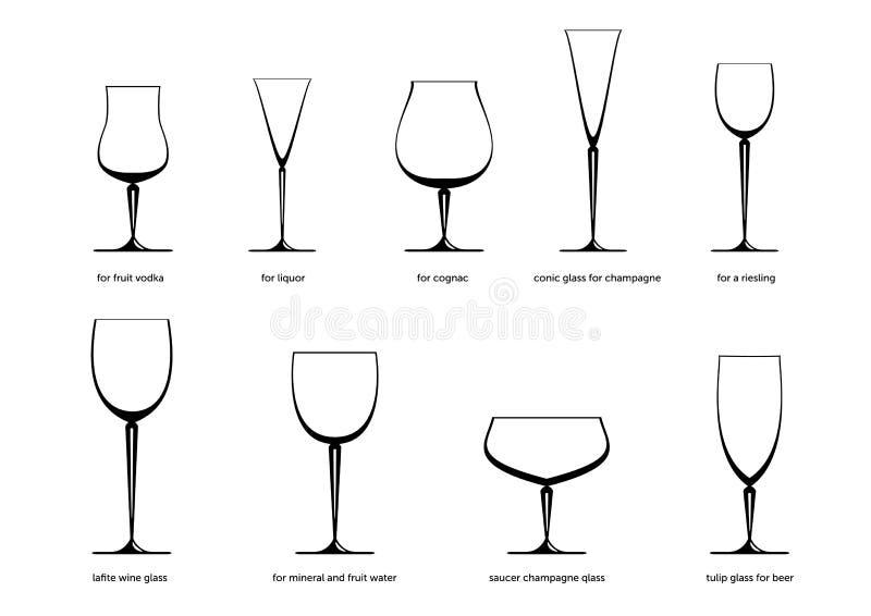 Drinkware vektor abbildung