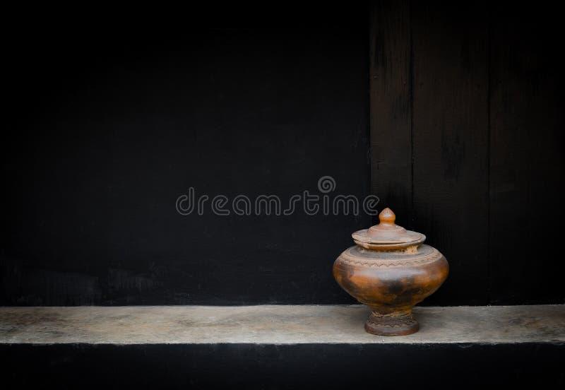 Drinkwaterkruik van Thailand stock foto