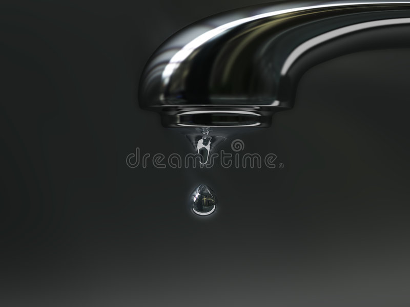Dripping stock image