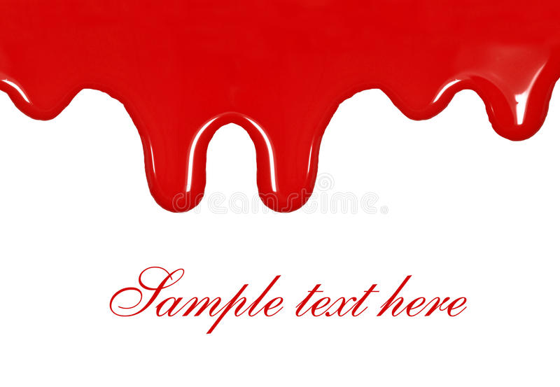 Dripping Blood Stock Images