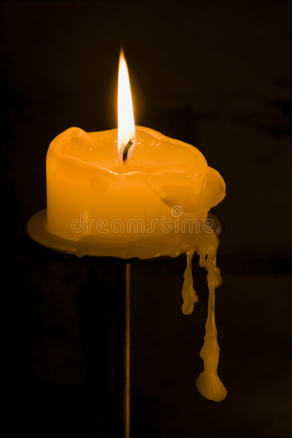 Download Dripping Candle stock image. Image of darkness, drip, dripping - 401757