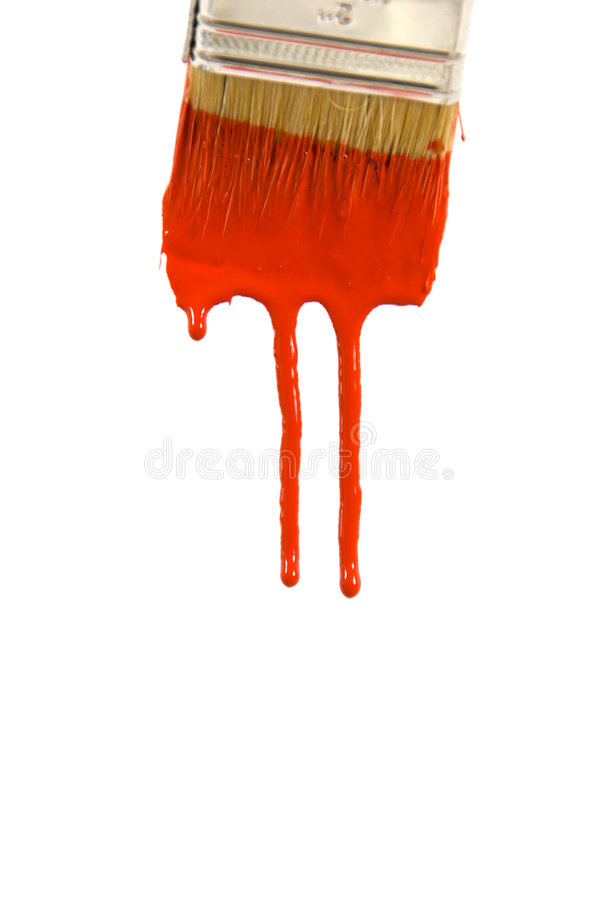 Dripping Paint royalty free stock photo