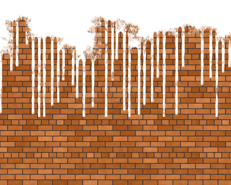 Download Dripping paint stock illustration. Illustration of wall - 6662976
