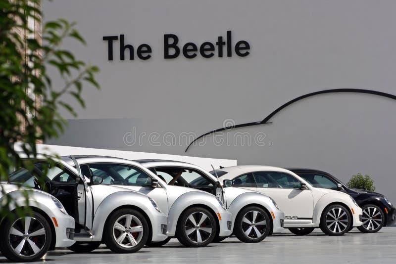 Drittgenerations- VW-Käfer stockbild