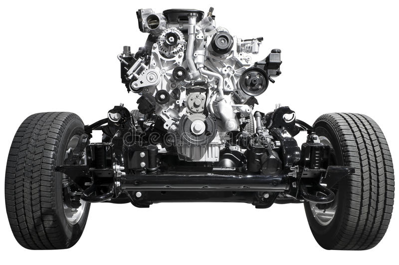 Download Drive Axle and Engine stock photo. Image of isolated - 18446914
