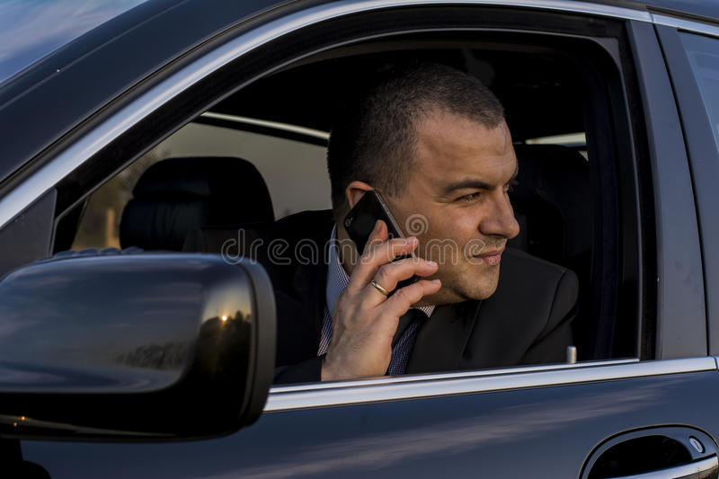 Download Drive On The Phoner Looking Out Of Window Stock Photo - Image of transportation, prom: 39500078