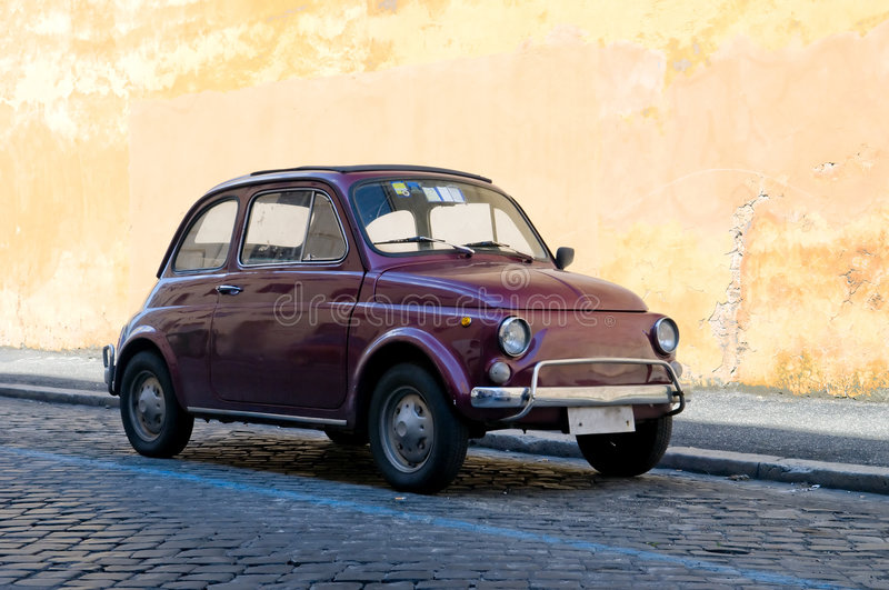 Drive in Rome royalty free stock images