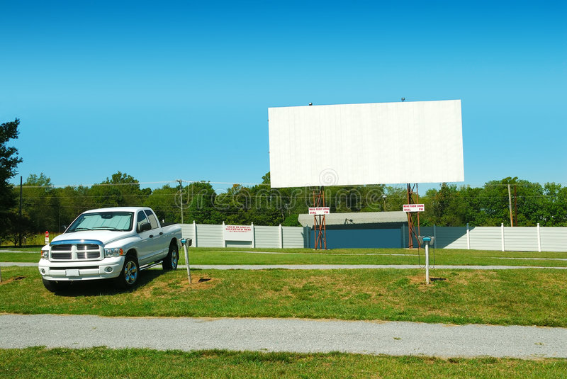 Drive In Theater stock photography