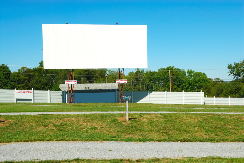 Download Drive In Theater stock image. Image of countryside, americana - 3867197