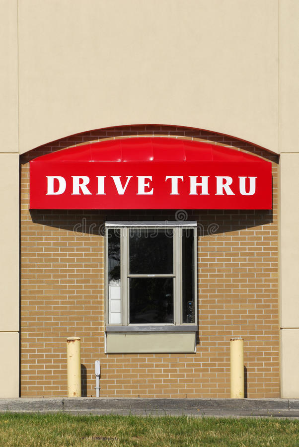 Download Drive Thru stock photo. Image of posts, thru, grass, drive - 25189924