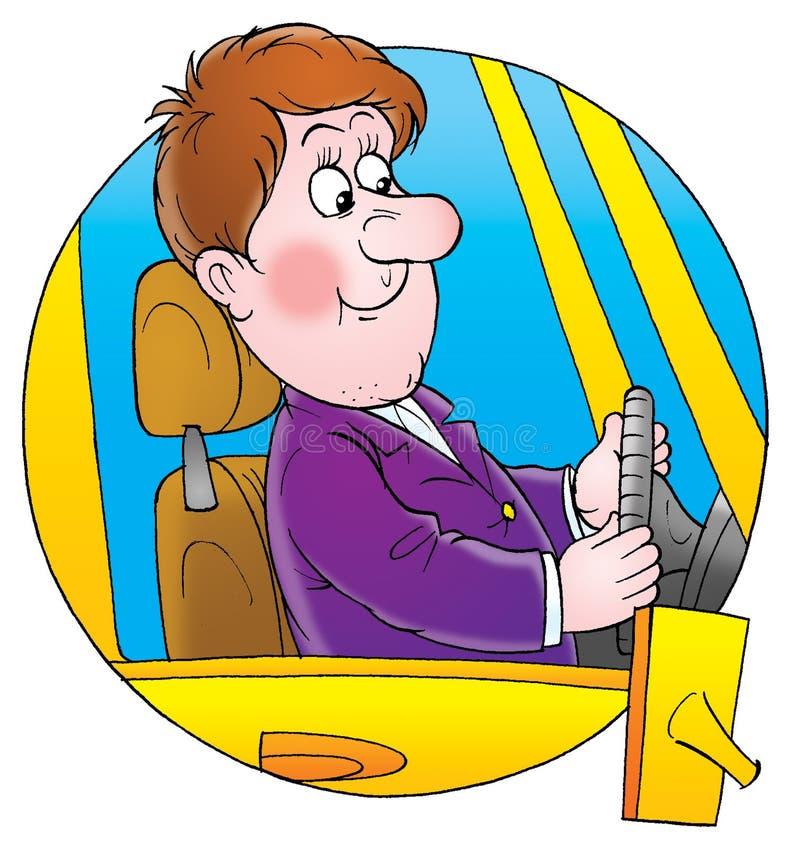 Driver vector illustration