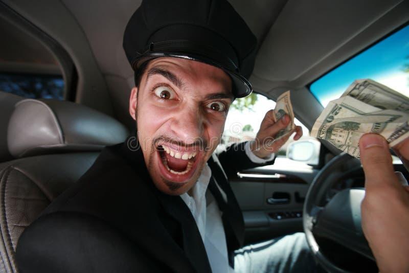 Driver arrabbiato immagine stock libera da diritti