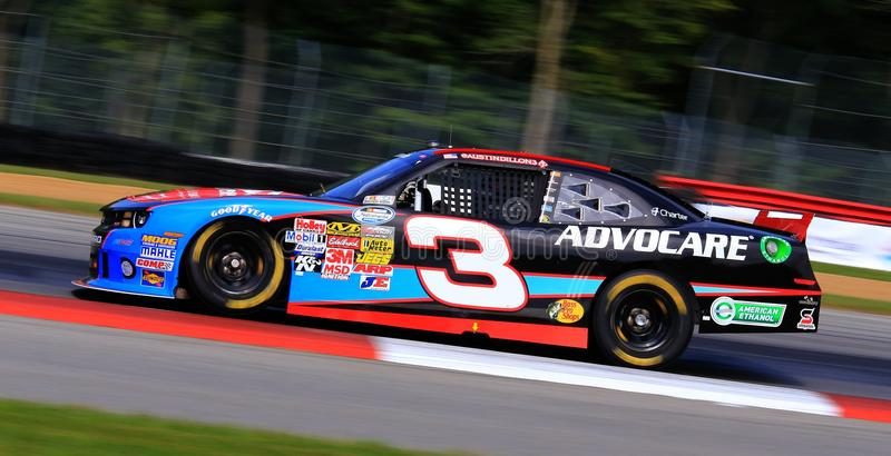 Driver Austin Dillon stock photo