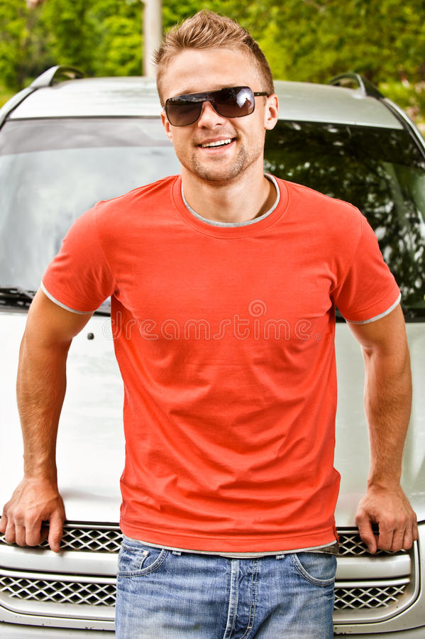 Download Driver Of Car Smiles Stock Image - Image: 14542661