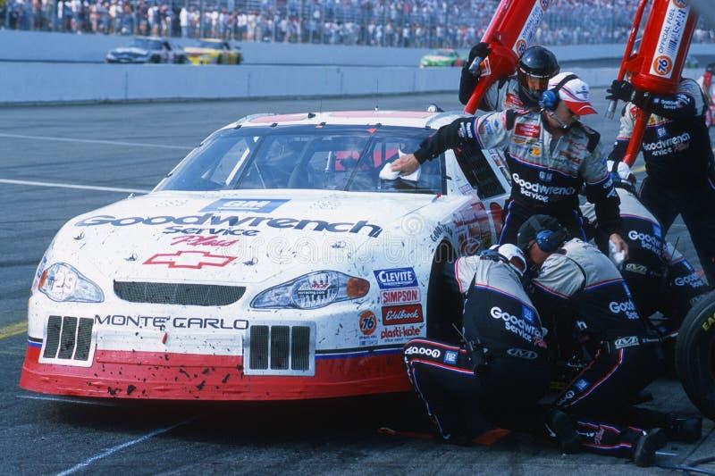 Driver del Kevin Harvick NASCAR fotografia stock