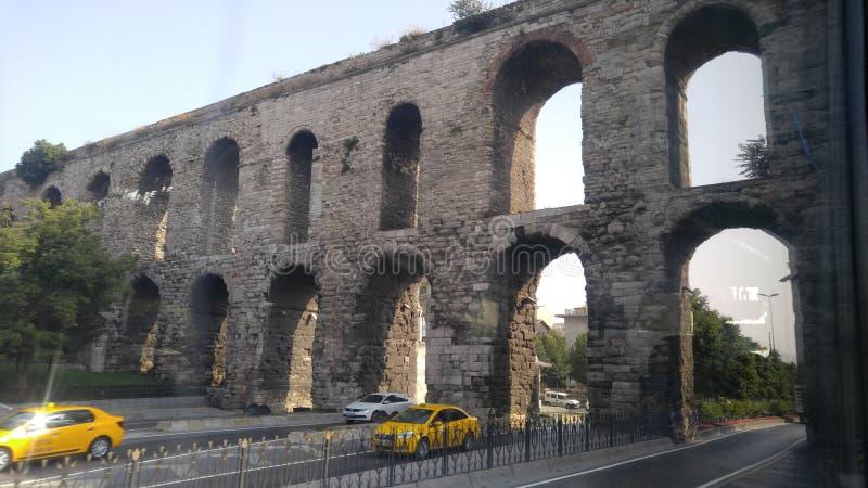 Driver dell'acqua di Costantinopoli del monumento più vecchio immagini stock